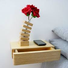 24 creative and eye catchy bedside table alternatives shelterness