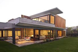 fair contemporary home design with sleek and classy house plans