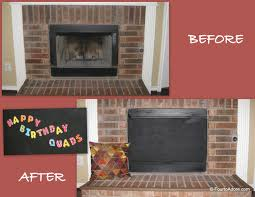 diy fireplace cover binhminh decoration