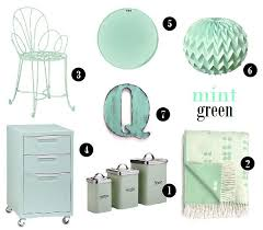 Mint Green Home Decor 26 Best Mint Green Interiors Images On Pinterest Mint Green