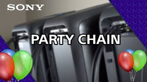 sony high powered bluetooth light up speaker gtk xb5 how to use party chain mode on the sony xb7 high power audio