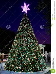 Outdoor Christmas Trees by City Hall U0027s Outdoor Christmas Tree Royalty Free Stock Images