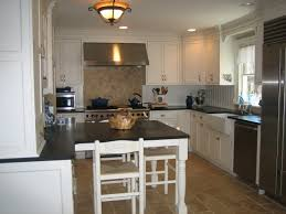 modern and traditional kitchen is fresh kitchen island attached to