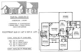 4 bedroom 1 story under 2300 square feet