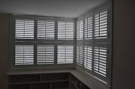 French Style Blinds Decorations Corner White Window With Blinds Ideas Smart Calico