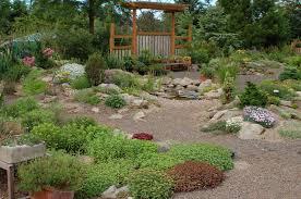 berm rock garden wild ginger farm