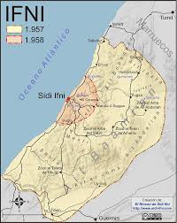 Map Of Spain And Morocco by Ifni War Wikipedia
