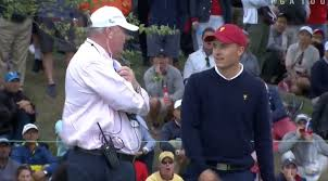 presidents weekend 2017 presidents cup jordan spieth disqualified from hole for