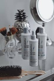 damaged hair repair post summer tips pop of black