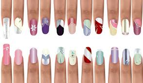 easy nail designs for beginners at home step step nail arts unique