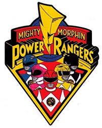 amazon mighty morphin power rangers logo u0026 characters sticker