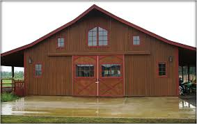 pole barn plans the pioneer style barn kit