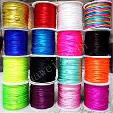 rattail cord 70meter 1 5mm knot satin braided cord macrame