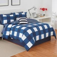 Blue Full Comforter Buy Plaid Full Comforter Sets From Bed Bath U0026 Beyond