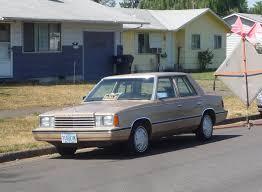 curbside classic 1983 dodge aries u2013 the k car saves chrysler