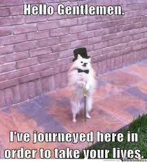 Gentleman Meme - hello gentleman by sebasbuis meme center
