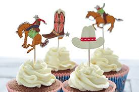 cowboy cake toppers cowboy cake toppers cowboy hats boots cupcake toppers