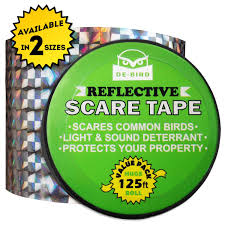 How To Get Rid Of Pigeons On My Roof by Amazon Com Bird Repellent Scare Tape Simple Control Device To