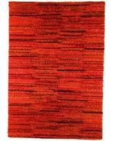 Indian Hand Woven Rugs Striped Wool Hand Woven Brown Area Rugs Bhg Com Shop