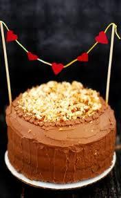 eggless sour cream chocolate cake could prob use greek yogurt and