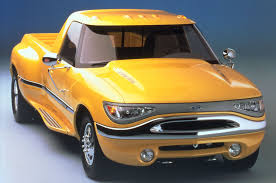 Yellow Ford Ranger Truck - truck concepts the weird and the wonderful