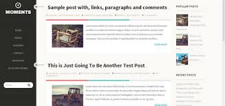 left sidebar left and right sidebar templates