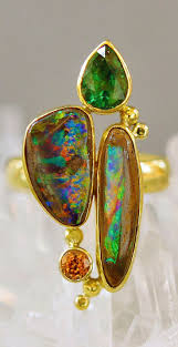 green opal earrings 505 best great boulder opal jewelry images on pinterest opal