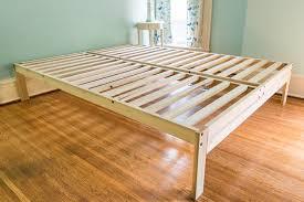 Nomad Bed Frame Platform Bed Frame With Storage For Small Bedrooms