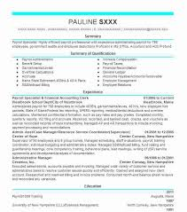 Accounting Clerk Resume Examples by Best Payroll Specialist Resume Example Livecareer