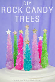 rock candy christmas tree cake topper u2014 party hardiy