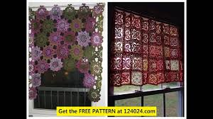 Crochet Curtain Designs How To Crochet Curtains Youtube