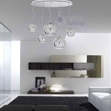 ladari moderni da soffitto sospensione grande design moderno sfere cromate