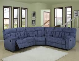 sofa navy blue sectional with chaise reclining sectional
