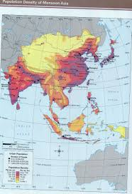 Asia Blank Map Monsoon Asia Blank Map Physical Features Inside Quiz At Gongsa Me