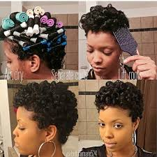 Roller Set Hairstyles 1484 Best Natural Hair Images On Pinterest Natural Hair Styles