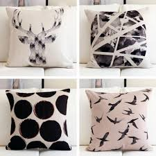 geometric home decor polka dots decorative pillows for living room geometric home decor