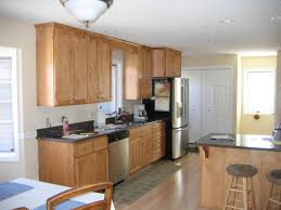 Thomasville Kitchen Cabinets Furniture Mocca Thomasville Cabinets With Black Countertop Plus
