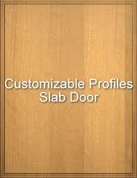 Slab Cabinet Door Custom Slab Cabinet Door