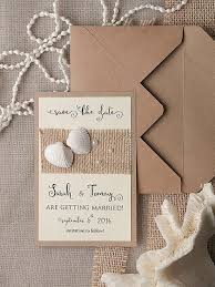 Rustic Save The Date Cards Save The Date Card 20 Rustic Save The Date Seashells Save The
