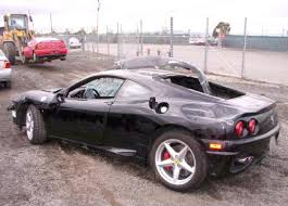 spider 360 price f1 360 modena spider for sale wrecked repairable