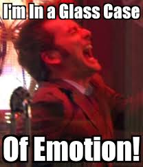 Glass Case Of Emotion Meme - doctor who glass case of emotion by thedoctor50 on deviantart