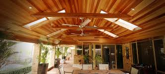 Timber Patios Perth Lined Timber Patio
