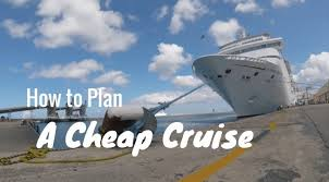 how to plan a cheap cruise