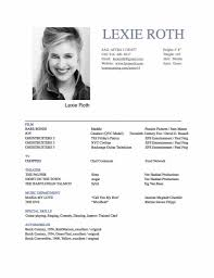 Sample Resume Format Uk by Musician Resume Sample Sample Resumes