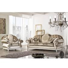 canapé style baroque canapé italien 2 places en tissu de style baroque liberty