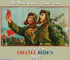 barack obama and joe biden election campaign poster pictures