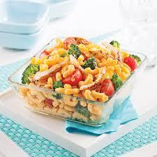 cuisine au fromage macaroni primavera au poulet sauce au fromage recettes cuisine