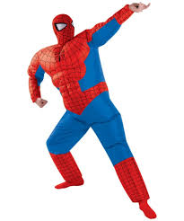 spider man inflatable halloween costume