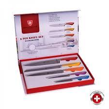 coffret de couteaux de cuisine coffret 5 couteaux couleurs inox imperial collecti achat vente