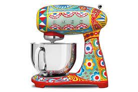 dolce u0026 gabbana smeg kitchen appliances bring runway design to